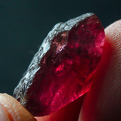 12.9Ct 100% Natural Purple Garnet Rhodolite Facet Rough Specimen YPE672