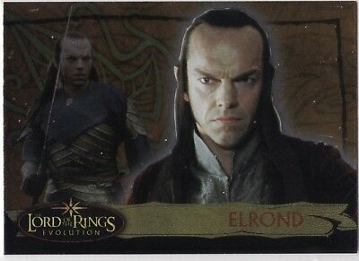 Lord Of The Rings : Evolution - Insert 5A - Elrond