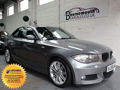 BMW 1 Series 2.0 123d M Sport 2dr 1 OWNER FULL BMW S/HISTORY