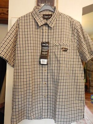 Prologic Short Sleeve Check Shirts All Sizes Clearance