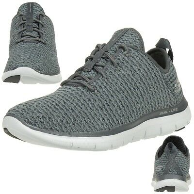 fc7d0a0205731 SKECHERS FLEX APPEAL 2.0-bold Move Chaussures Fitness Dame Char ...