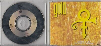 PRINCE Gold  3 TRACK 1995 CD MAXI WEA GERMANY NPG RECORDS