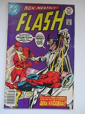 Dc Flash #247 Mark Jewelry Variant 1977