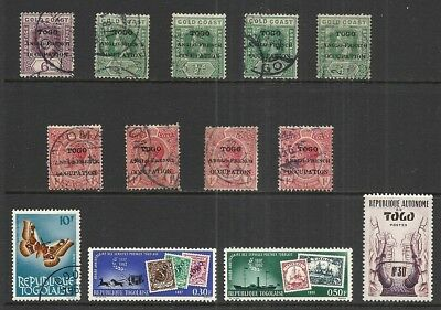 Togo   Various Mint & Used Issues     Cat $16.40