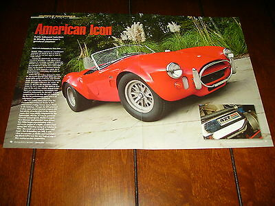 1967 Shelby Cobra 427  ***original 2014 Article / Specifications***