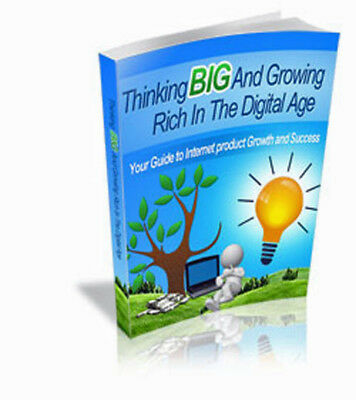 Thinking Big And Growing Rich In The Digital Age - Product Growth & Success (CD)