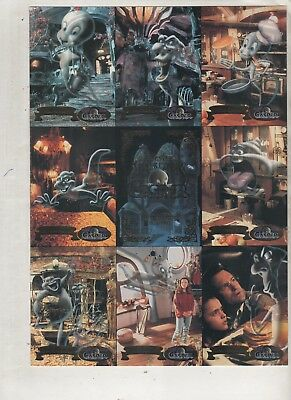 Uncut Trading Casper Fleer Ultra Card Sheet Promo 1995