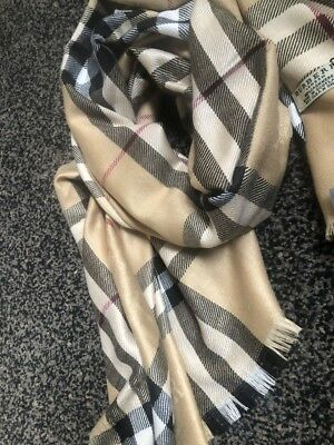 New Burberry Scarf *100%Cashmere