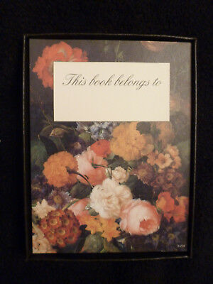 ANTIOCH PUBLISHING COMPANY FLORAL/ BOTANICAL BOOKPLATES SELF STICK book plate