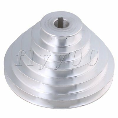 19mm Bore 5 Step A Type V-Belt Pagoda Pulley Belt Outter Dia 54-150mm