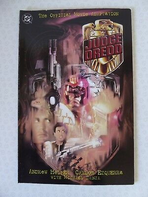The Official Movie Adaptation Judge Dredd DC Comics 1995 - Sylvester Stallone