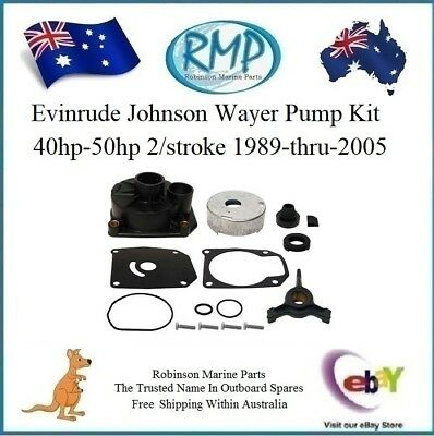 RMP Water Pump Kit Evinrude Johnson 40hp-thru-50hp 1989-Thru-2005 # R 438592