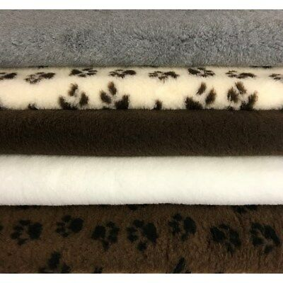 Vet Bed Pet Bedding Washable Deep Pile Dog Puppy Mats Colour Style / Size Choice