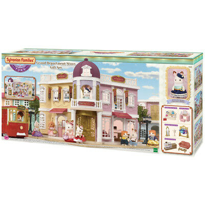 Sylvanian Families Town Series Grand Department Store Gift Set With Accessories