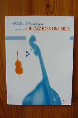 Mike Downer. The Jazz Bass Line Book -  B-Ware