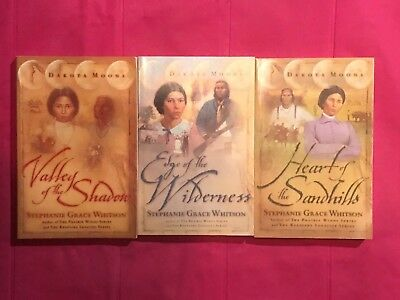 #1-3 Dakota Moons trilogy by Stephanie Grace Whitson PB