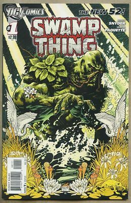 Swamp Thing #1-2011 nm- 9.2 1st STANDARD cover NU52 New 52 Scott Snyder Superman