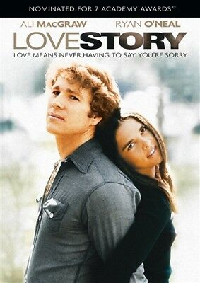 LOVE STORY New Sealed DVD Ryan O'Neal Ali MacGraw