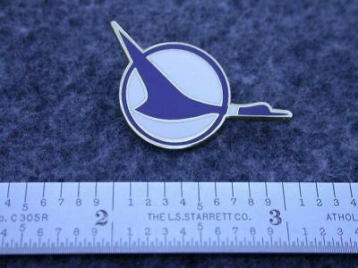 North Central Airlines 70's Herman The Duck Logo Pin.