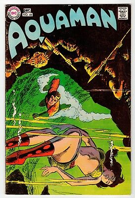 DC AQUAMAN #48 - VG Dec 1969 Vintage Comic