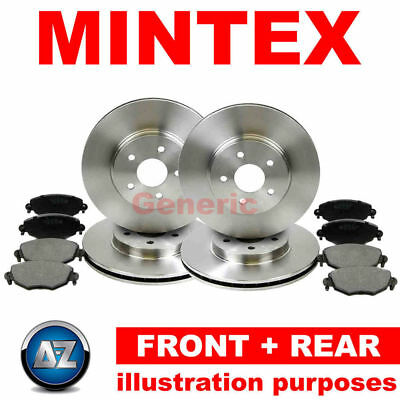 22l For Fiat Ducato 150 Multijet 3.0 D 10-13 Mintex Front Rear Brake Discs Pads