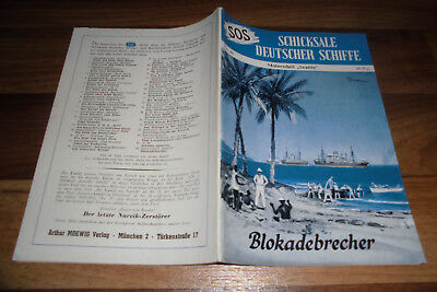 "SOS # 36 -- BLOKADEBRECHER // Motorschiff ""Seattle"" / in 1. Aufl. 1954"