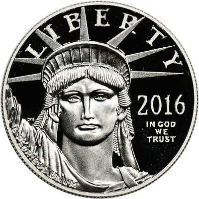 2016-W American Platinum Eagle Proof (1 oz) $100