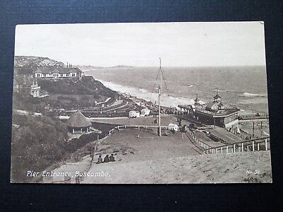 PIER ENTRANCE, BOSCOMBE, BOURNEMOUTH - UNKNOWN PUBLISHER (c1910)