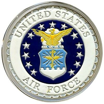 CHALLENGE COIN - UNITED STATES AIR FORCE USAF MILITARY Silver NEW Free Shipping*