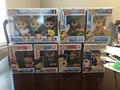 Funko Pop! Ad Icons Target Exclusives Twinkie Chase Capn Crunch Noid Joe SCP KDD