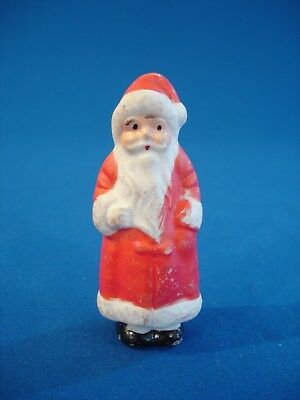 Vintage Bisque Christmas Figurine - Santa Claus - Japan