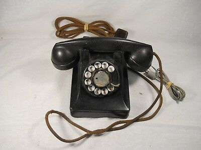 Bell System Western Electric F1 Rotary Dial Telephone, Vintage