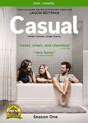 Casual: Season 1 (Brand New DVD + Digital HD) Factory Sealed with Sleeve