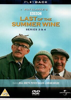 LAST OF THE SUMMER WINE - The Complete Series' 3 & 4 - DVD *3-Disc Boxset*