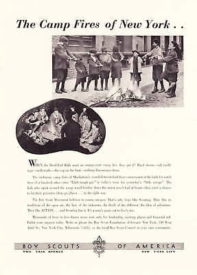 1939 Dead End Kids & NYC Boy Scouts of America photo ad