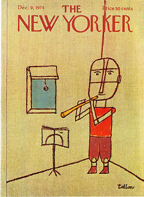 1986 Washing Suburban Fire Truck art by Arthur Getz The New Yorker COVER ONLY