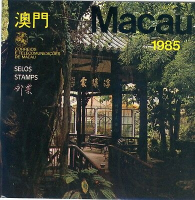 Macao 1985 Stamp Year Set Complete With Souvenir Sheet And Booklet Mnh Vf
