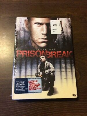 Prison Break Season 1 (6-Disc Set) Sealed DVD Wentworth Miller, DRAMA TV SERIES