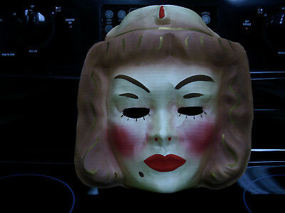1951 movie Magic Carpet Lucille Ball vintage halloween costume lucy mask OLD