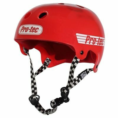 Protec Bucky Skate Helmet Solid Red Size Large Skate Scooter Pro-Tec