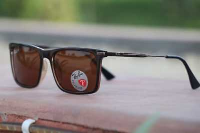 7f6a471756004 ... coupon for new ray ban sunglases rb4190 clubmaster square balck frame  brown g 15 lens c2421