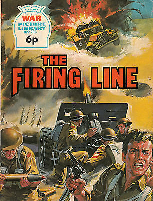 THE FIRING LINE War Picture Library No. 793 Paperback