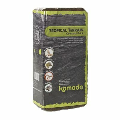 Komodo Tropical Terrain Reptile Compact Brick Woodland Rainforest Substrate