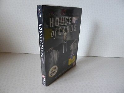 House of Cards The Complete First Season - 4 Disc DVD Box Set - New Sealed