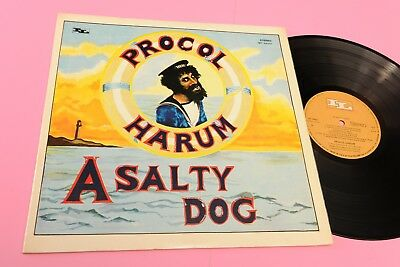 Procol Harum Lp A Salty Dog Orig Italy 1969 Ex+ ! Laminated Cover Toooppp