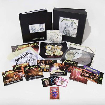 Metallica - ...And Justice For All Deluxe Vinyl LP Box Set PRE-ORDER Fanbox CD