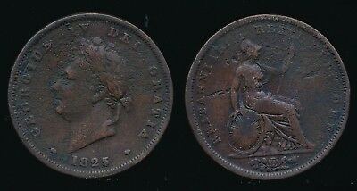 1825 George IV - Copper PENNY...Fast Post