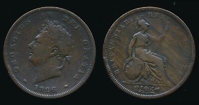1826 George IV - Copper PENNY...Fast Post