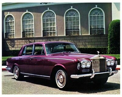 1970 Rolls Royce Silver Shadow Photo Poster zca3846