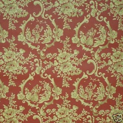 16sr SUPERB Strahan Historic French Toile Wallpaper